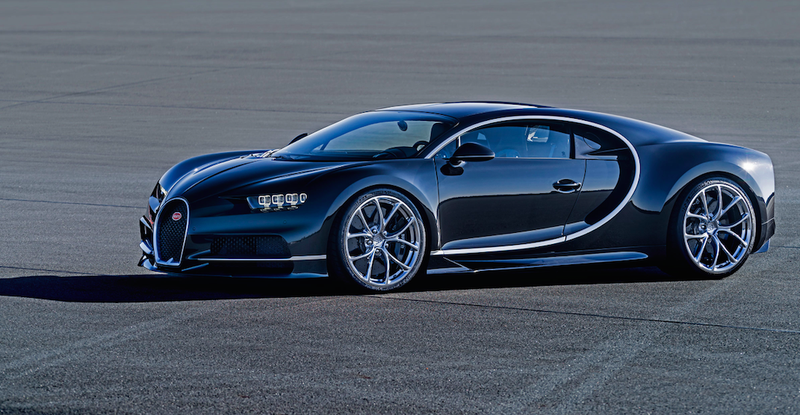 the incredible tech in the new bugatti chiron, the world's most