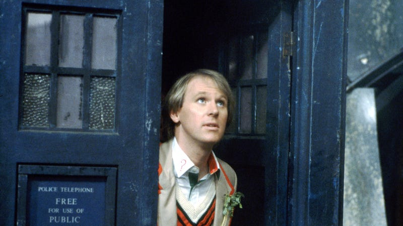 Illustration for article titled Peter Davison is uniting the Classic Doctors for The Five(ish) Doctors