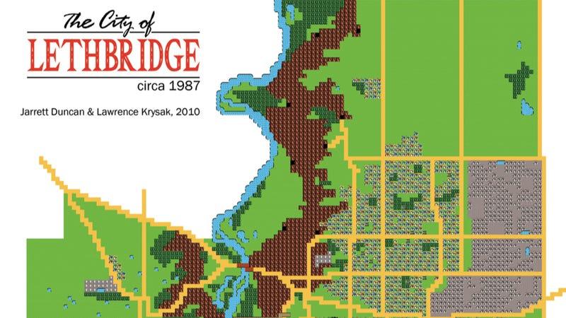 Illustration for article titled Zelda Maps Make The Best City Maps