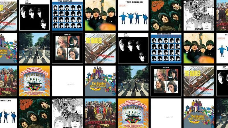 Illustration for article titled Video argues The Beatles' LP covers tell the band's story
