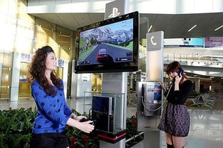 Illustration for article titled Waiting For Your Flight? Play PS3