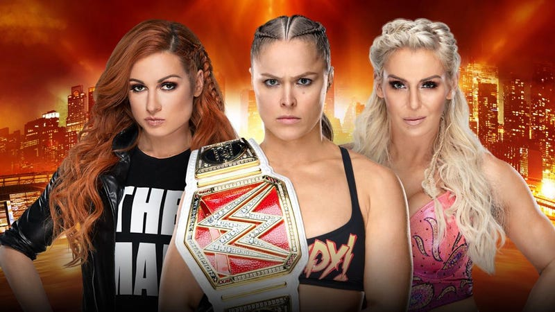 Illustration for article titled WrestleMania 35 Will Feature First-Ever Women's Main Event