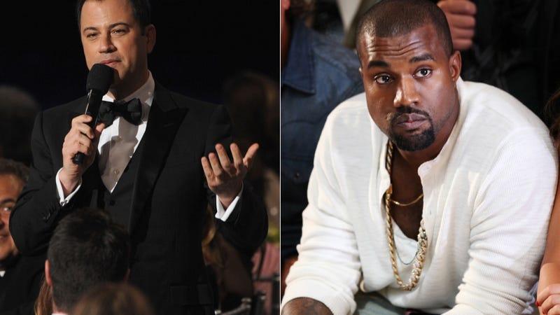 Illustration for article titled The Kanye West/Jimmy Kimmel Twitter Battle Trundles Along