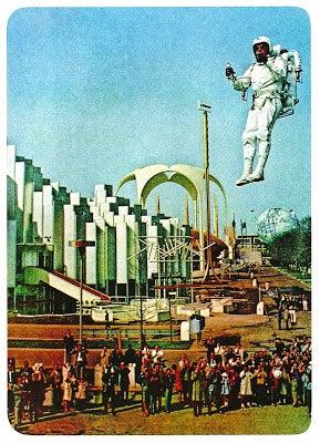 Illustration for article titled Bell Aviation's Rocket Pack (1964)