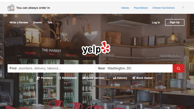 Yelp Will Now Advise Customers When a Business Is Racist Enough to Land in the News