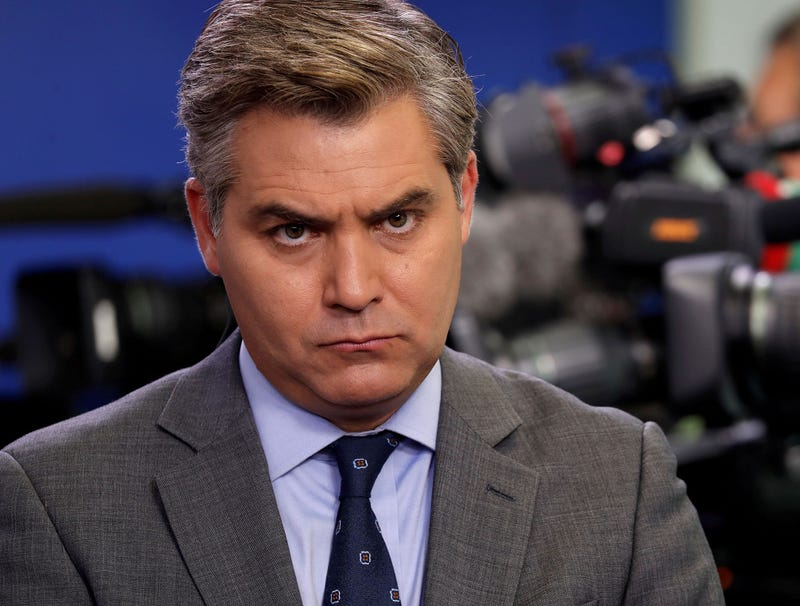 Illustration for article titled Jim Acosta Immediately Decks White House Intern After Being Let Back Into Press Pool