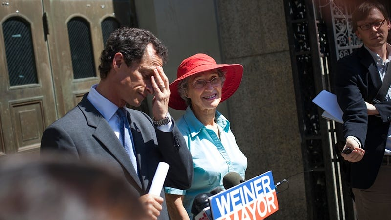 Illustration for article titled Anthony Weiner's Mom Told Embarrassing Stories on the Campaign Trail
