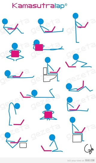 Illustration for article titled Perform the Kama Sutra with Your Laptop