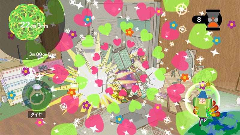 Illustration for article titled Katamari Forever Tunes Get Chippy