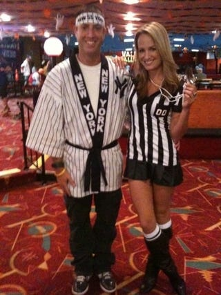 Illustration for article titled Jenn Brown's Halloween Costume Just Made Me Commit A Personal Foul In My Pants