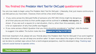 Illustration for article titled Predator Alert Warns You If Your OkCupid Prospect May Be Dangerous