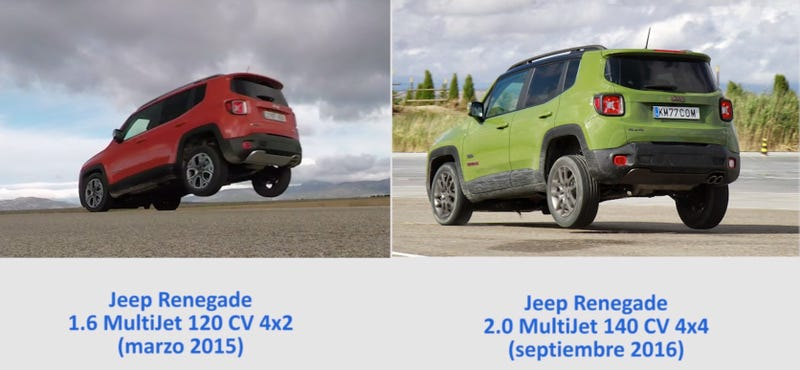 Videos Show The Jeep Renegade Has A Scary Problem Under Hard