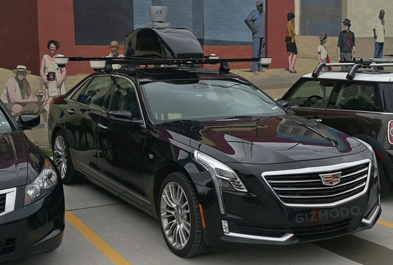 Illustration for article titled Who Does This Self-Driving Cadillac CT6 Belong To?