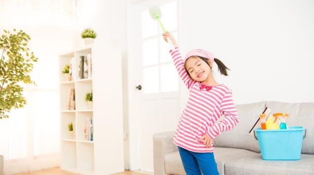 Put Your Kids in Charge of These Spring Cleaning Chores