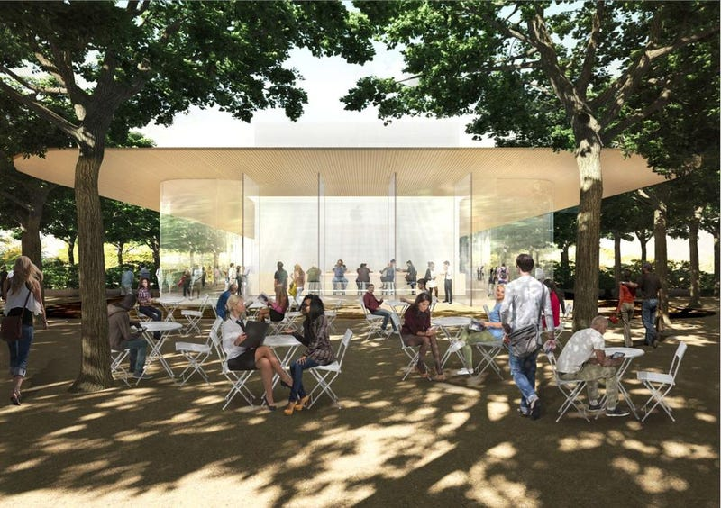 """Illustration for article titled Apple's Cupertino Campus Will Have an """"Observation Deck"""" For Fans"""
