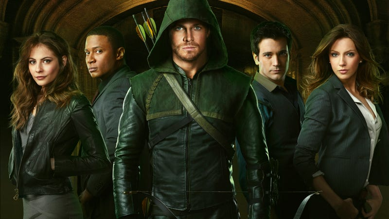 Illustration for article titled How will Arrow escape the curse of superhero TV shows?