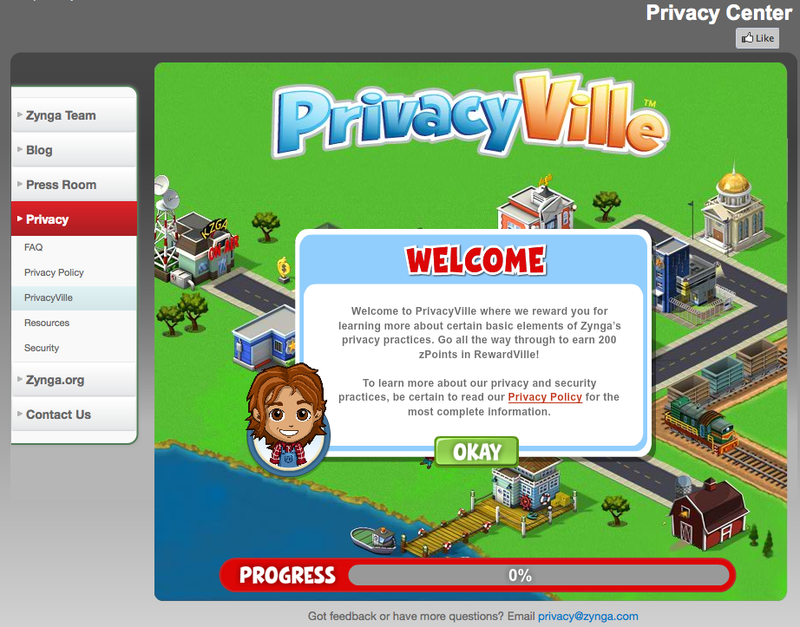 Illustration for article titled Privacy is a Game for Zynga