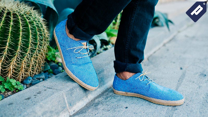 Illustration for article titled Save Over 15% On These Vibrant, Handwoven Slip Ons ($70)