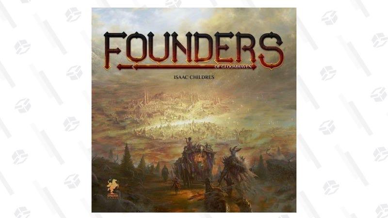 Founders of Gloomhaven   $38   Amazon