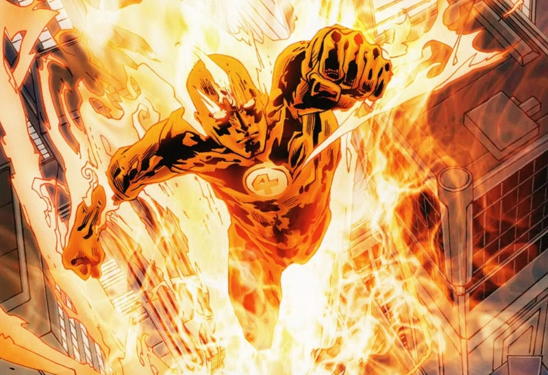 Illustration for article titled Character Neglect: The Human Torch