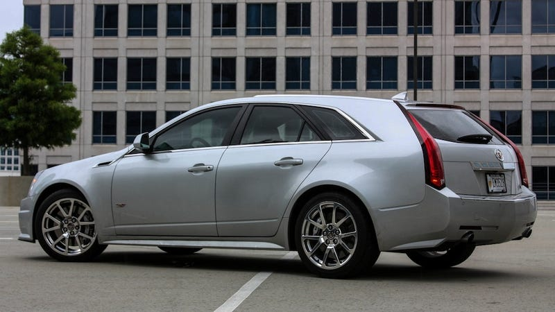 Illustration for article titled I Bought A Ridiculous Used Car, And It's A Cadillac CTS-V Wagon