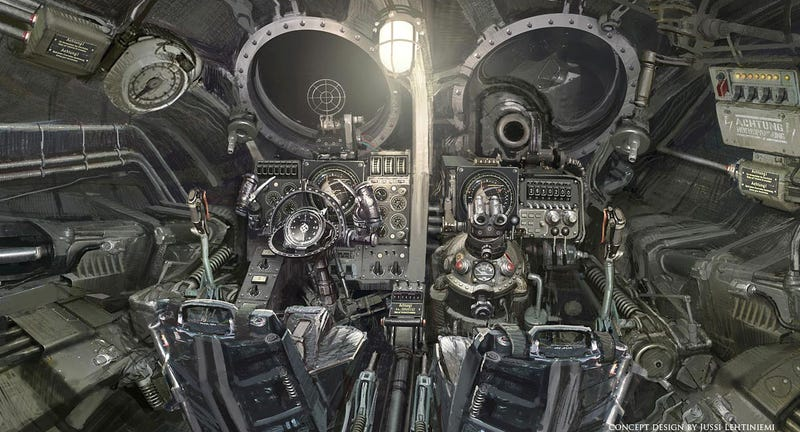 Illustration for article titled Inside a Nazi UFO