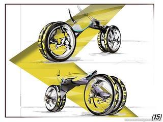 Illustration for article titled Design Concept: Moov Bike