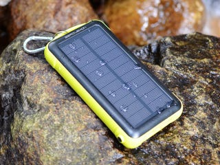 Illustration for article titled Get This Shock Proof, Water-Resistant, Solar Battery Pack For 50% Off