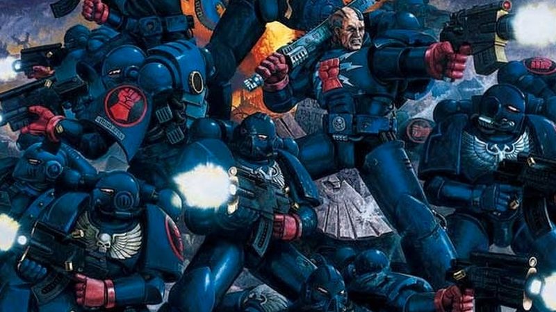 Illustration for article titled Praise the Emperor, Warhammer 40K Is Heading to Comics