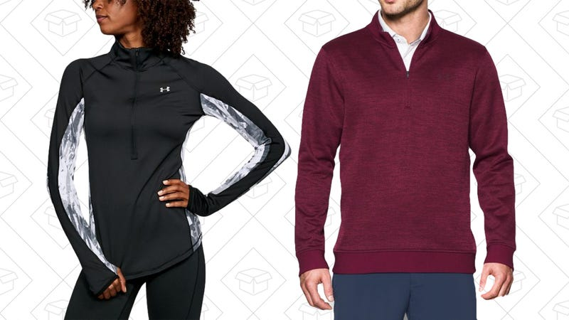 Up to 30% Off 1/4 and 1/2 Zips   Under Armour