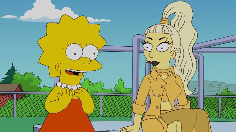 "Illustration for article titled The Simpsons: ""Lisa Goes Gaga"""