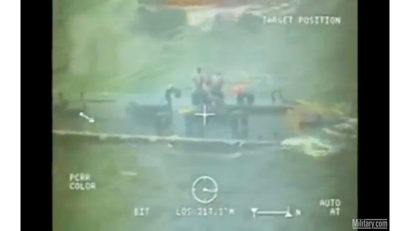 Illustration for article titled Coast Guard Intercepts Cocaine Submarine as It Sinks