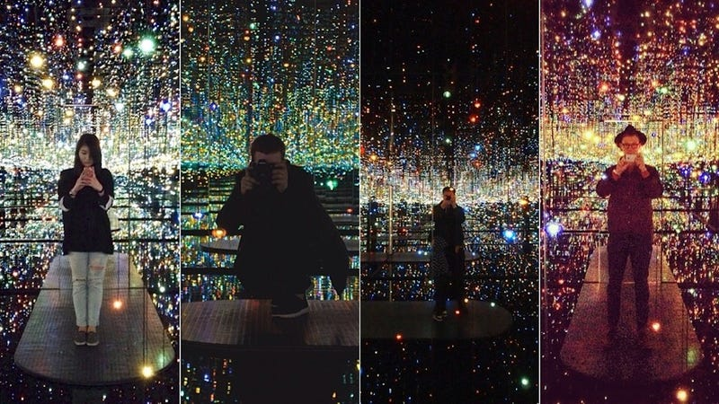 Inside NYC\'s New Mirrored Infinity Rooms