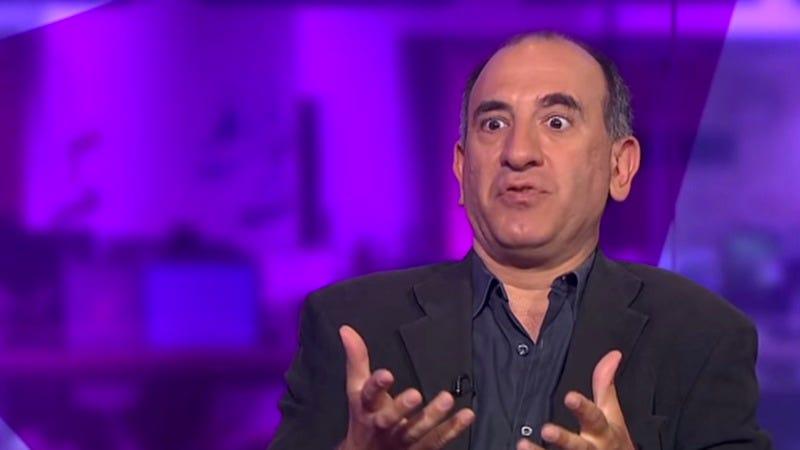 Armando Iannucci on Channel 4 News