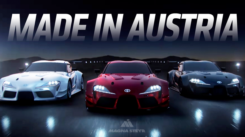 Magna Steyr Could Build The New Supra And Bmw Z4 Report