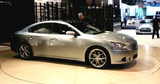 Illustration for article titled 2009 Nissan Maxima Revealed, Still Unofficially