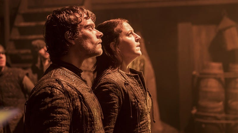 Neither Yara nor Theon are dead… yet. (Photo: Helen Sloan/HBO)