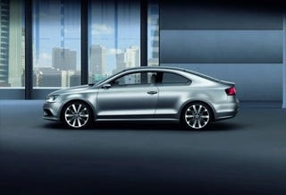 Illustration for article titled Gallery: Volkswagen Compact Coupe Concept 2010 Detroit Auto Show