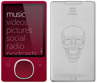 Illustration for article titled Red Zune 80 Now Customizable via Zune Originals