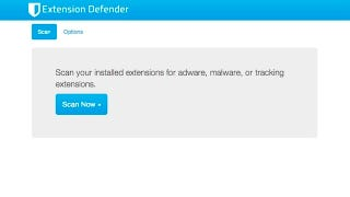 Illustration for article titled Extension Defender Roots Out Adware Extensions in Chrome