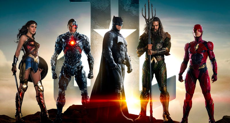 The Justice League. Image: Warner Bros.