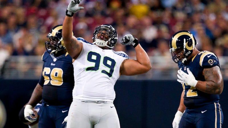 Illustration for article titled New Fat-Hugging Jerseys Are Destroying NFL Players' Self Esteem