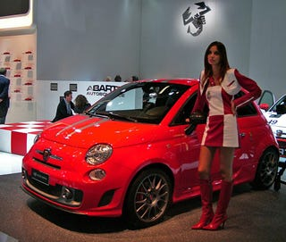 Illustration for article titled Abarth 685 Triubto Ferrari Fiat 500