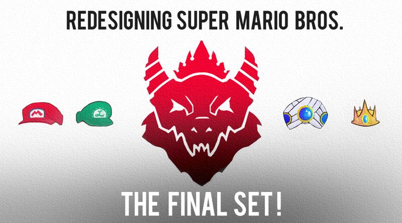 Illustration for article titled Redesigning Super Mario Bros - Final Set!
