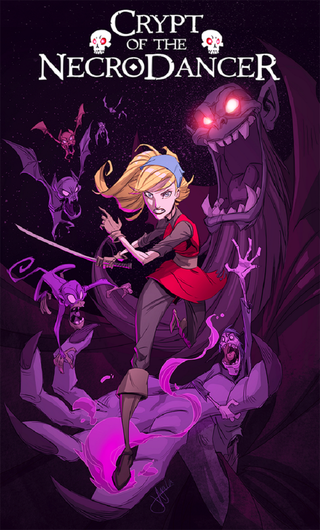 Illustration for article titled Crypt Of The Necrodancer Promotional Poster Art
