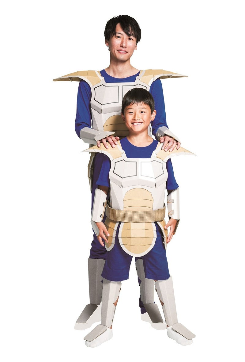 The Cardboard Dragon Ball Z Costume You\'ve Always Wanted
