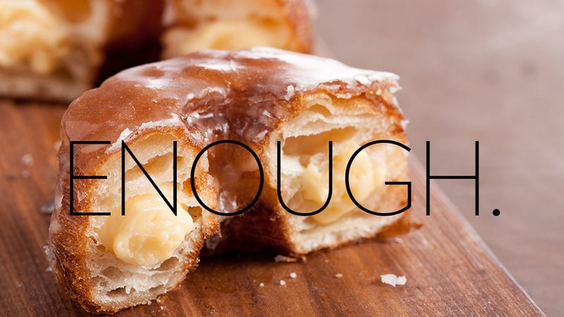 Illustration for article titled Cronuts Must Die