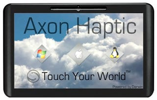 Illustration for article titled Axon Haptic Will Be the Tablet You Can Hackintosh