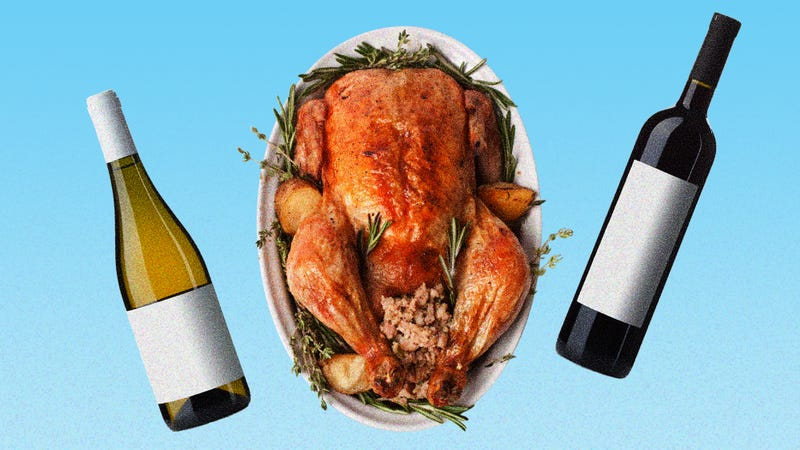 Illustration for article titled When it comes to wine with Thanksgiving dinner: dry, dry, dry again