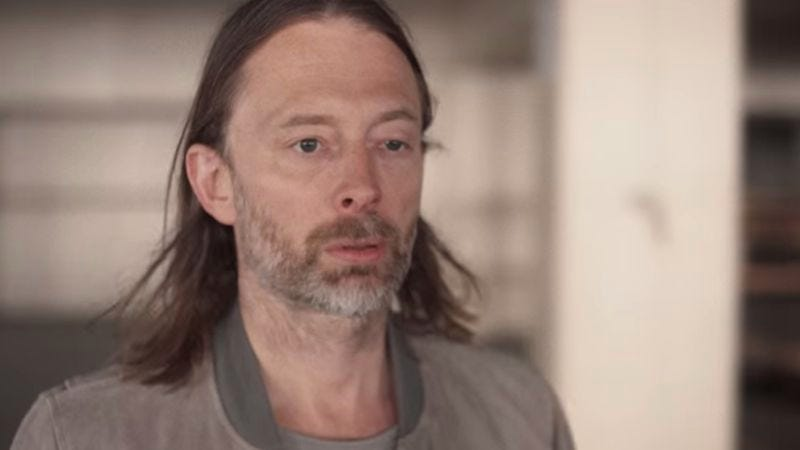 Illustration for article titled Radiohead drops Paul Thomas Anderson-directed video, actual album release date